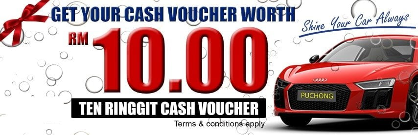 Car Polish Wax Puchong Promotion Voucher