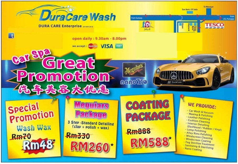 Car Polish Wax Puchong